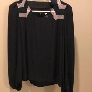 Silky dress blouse